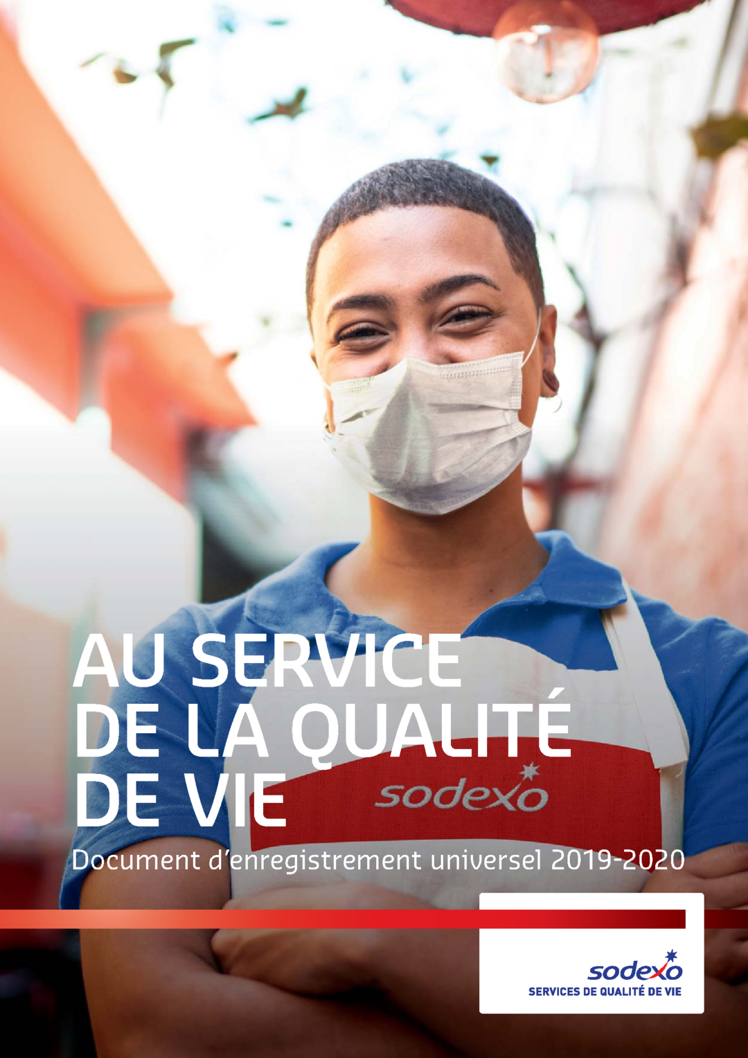 "Couverture - ""Document d'enregistrement universel 2019-2020"""